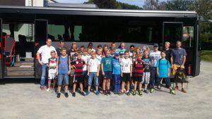 Fahrt zur U-16 Nationalmannschaft